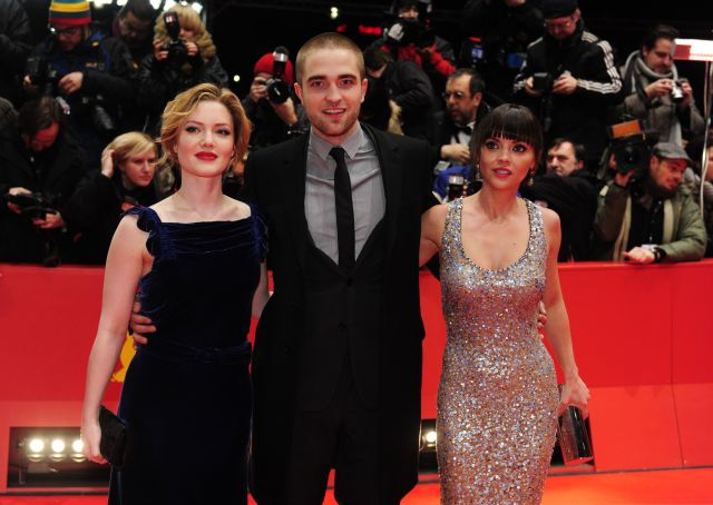Holliday Grainger, Robert Pattinson y Christina Ricci